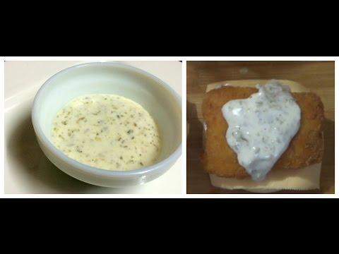 HOW TO MAKE MCDONALD'S TARTAR SAUCE - Recipe By Bharatzkitchen