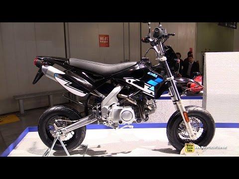 2015 Polini XP-4 Street 120cc Bike -  Walkaround - 2014 EICMA Milan Motorcycle Exhibition
