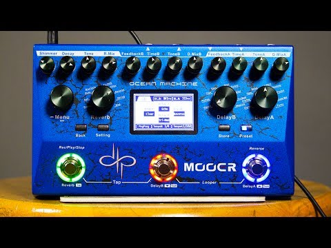 Mooer Ocean Machine (Devin Townsend) - Ambient Guitar Gear Review