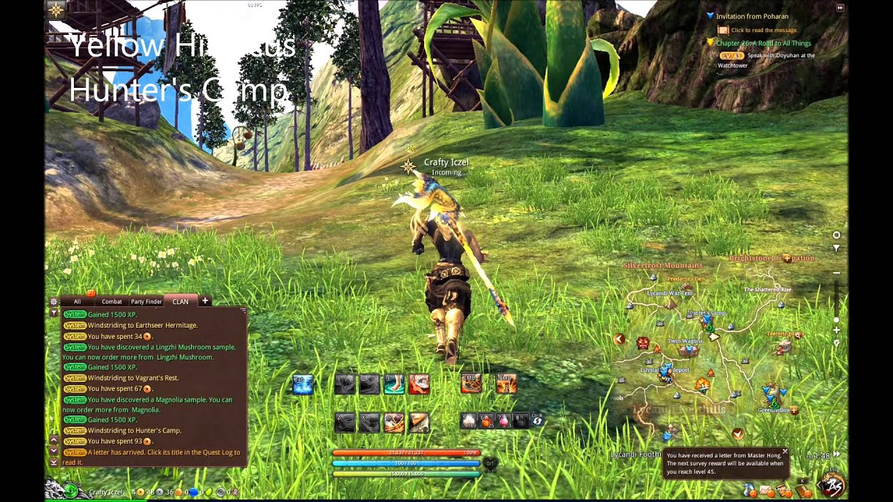 Blade And Soul Gathering Herbside Service Locations Youtube