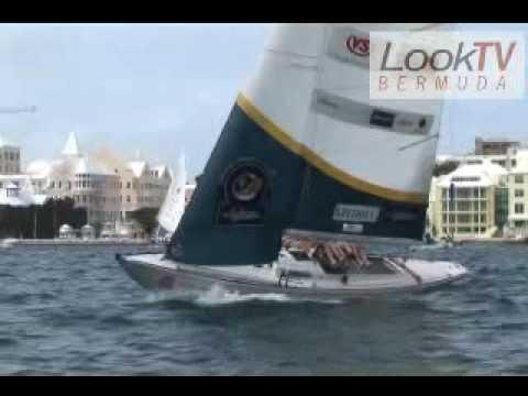 Bermuda Gold Cup Sailing as seen on LookBermuda.TV