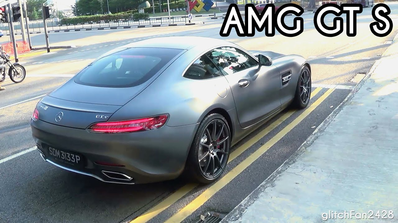 Mercedes benz amg gt s spotted in singapore youtube for Mercedes benz singapore