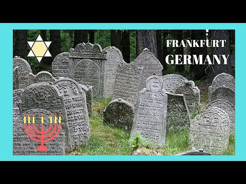 Europe's oldest JEWISH CEMETERY in FRANKFURT, GERMANY