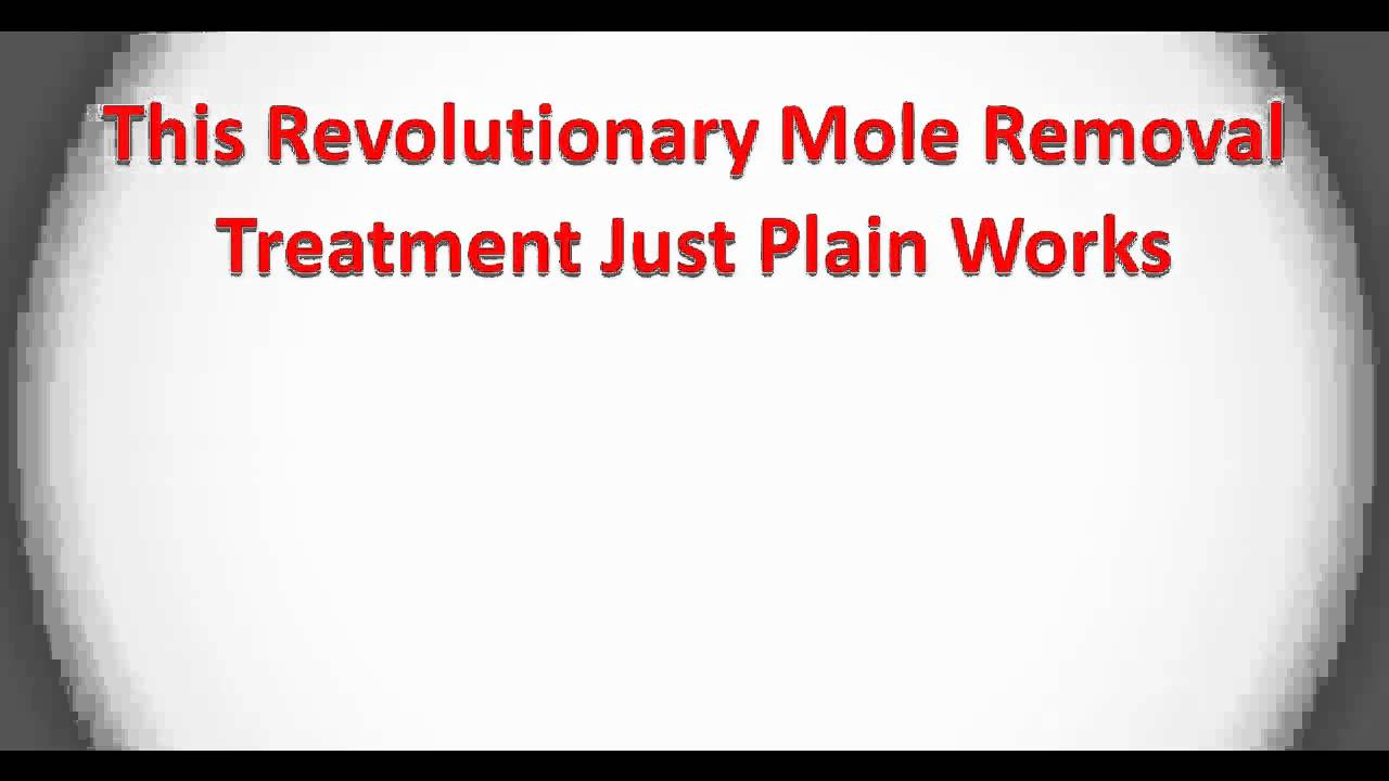 how to stop mole growth naturally