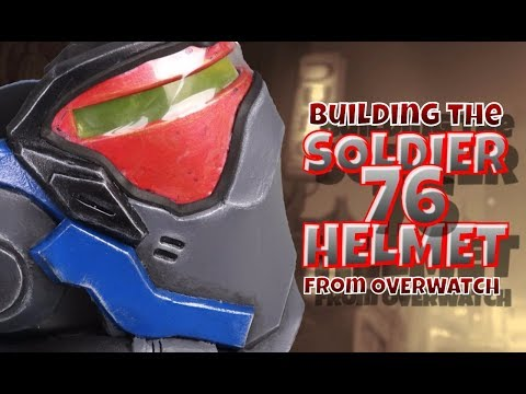 Building the Soldier 76 Helmet from Overwatch