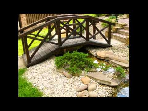 Декоративные мостики для дачи своими руками - идеи для дачи