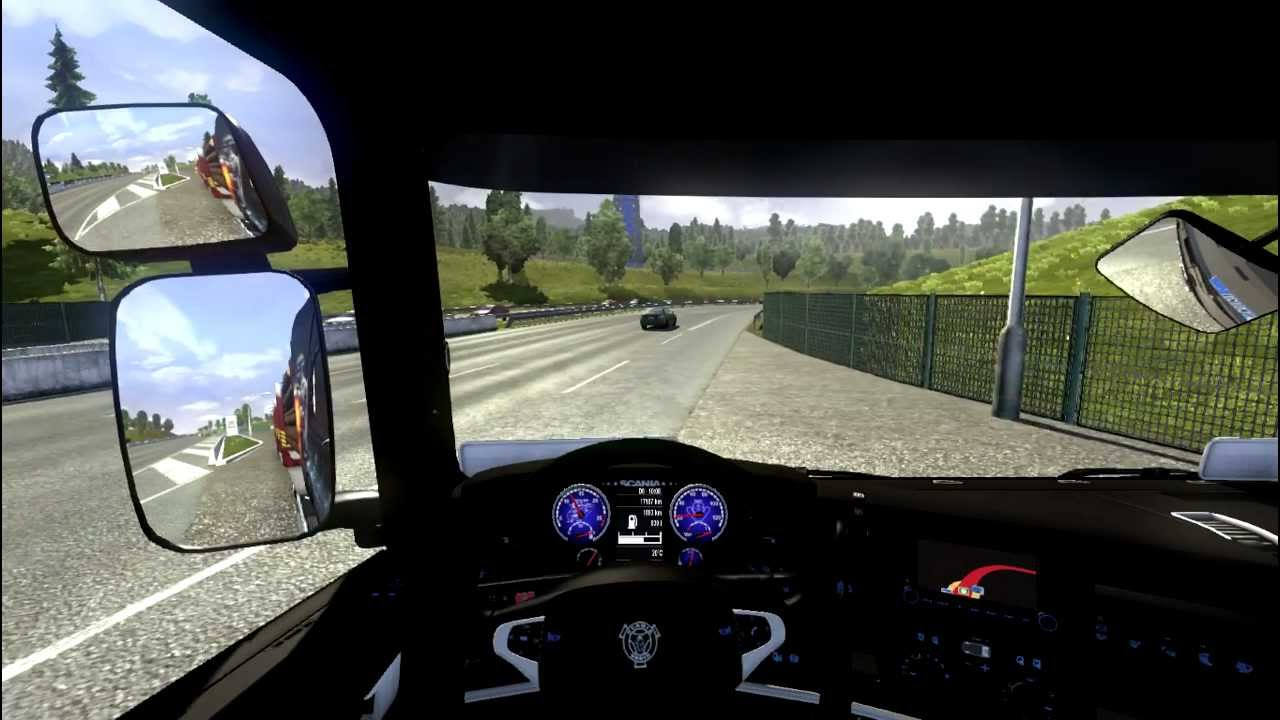 euro truck simulator 2 xbox 360 controller youtube. Black Bedroom Furniture Sets. Home Design Ideas