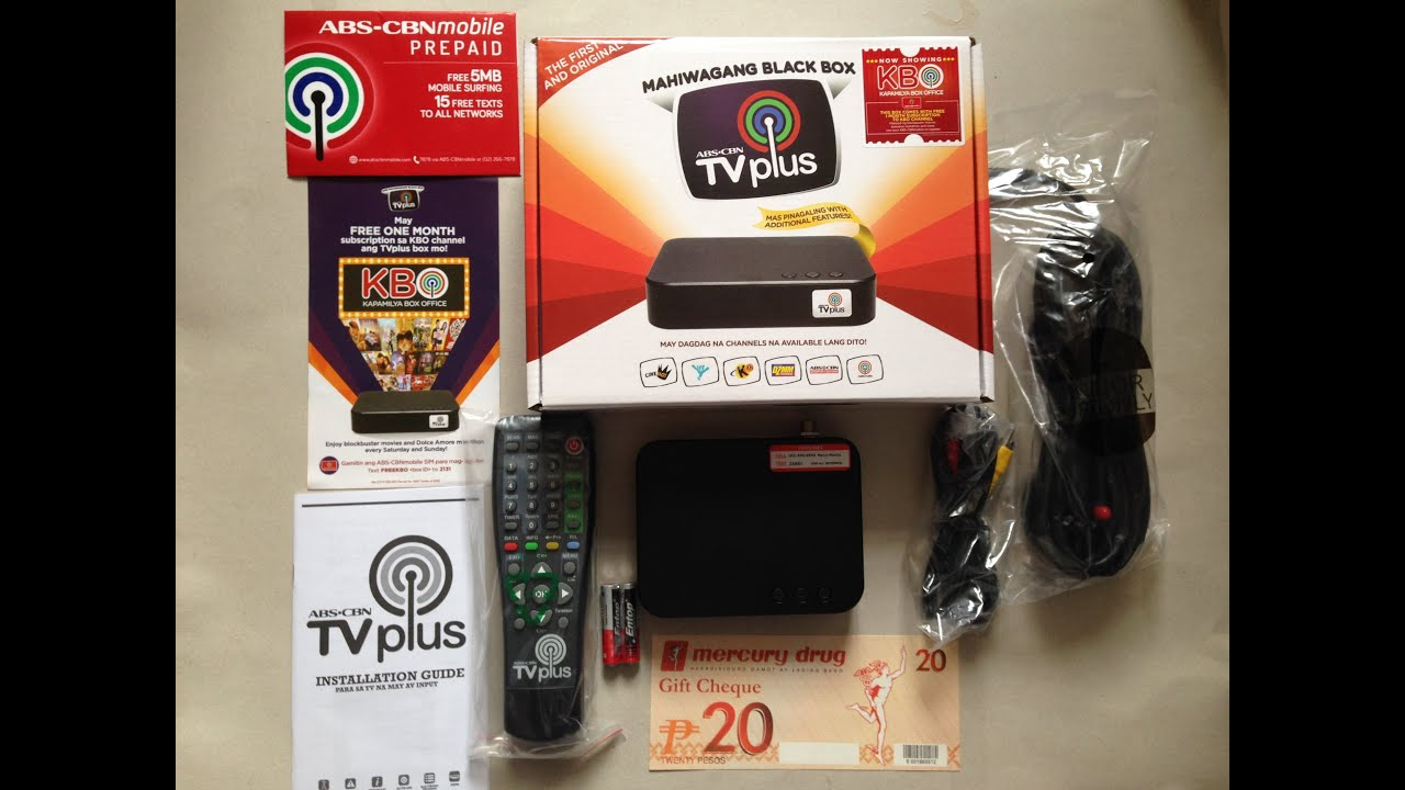 Abs-cbn Tv Plus 2 Unboxing Mahiwagang Black Box