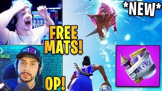 "Streamers USING the 'NEW' ""JUNK RIFT"" Item! «MATS GRATUITS» Fortnite Faits saillants - Moments drôles"