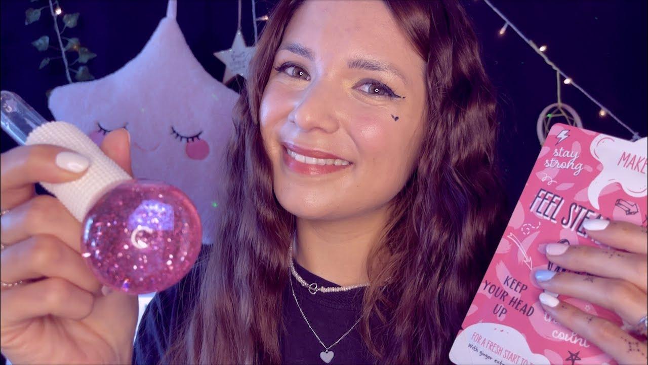 ASMR Freundin kümmert sich um dich mit Beauty Maske & macht dir gute Laune - Positive Affirmations