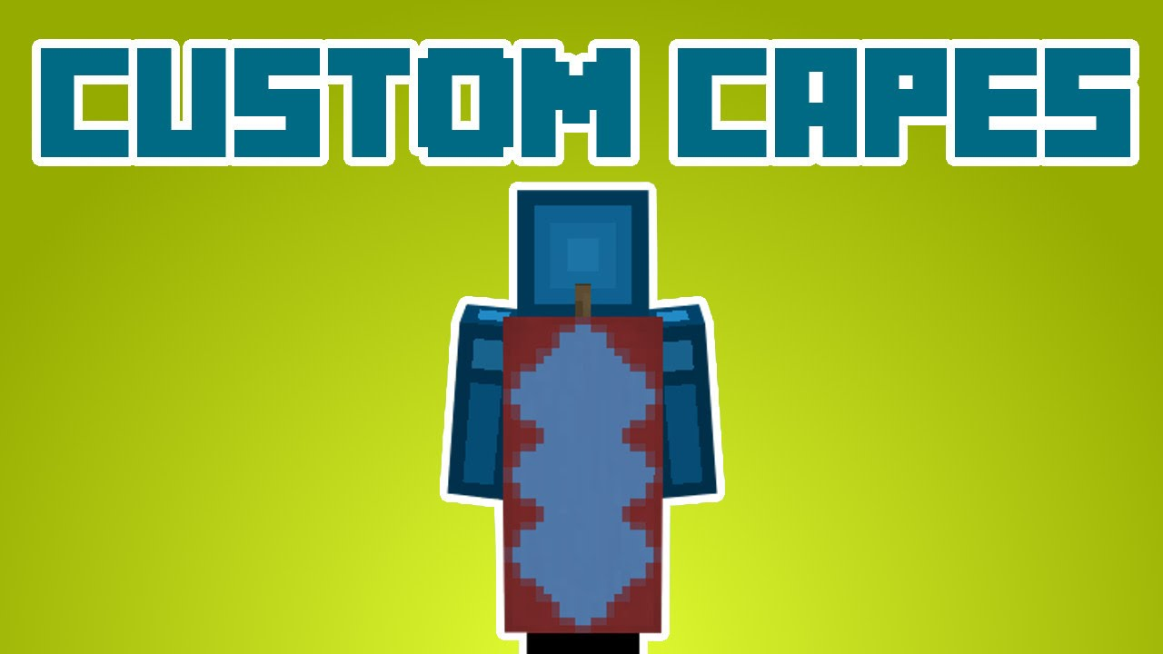 Minecraft - Custom Capes without Resource Packs - YouTube