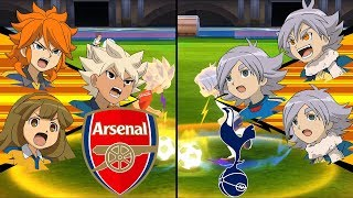 [Full HD 1080P] Inazuma Eleven Extra Match ~ Arsenal vs Tottenham ※The War of Ice and Fire※