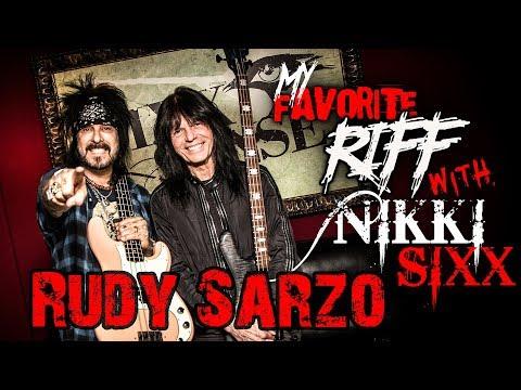 My Favorite Riff with Nikki Sixx: Rudy Sarzo (Quiet Riot | Whitesnake)
