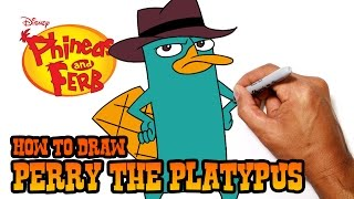 How to Draw Perry the Platypus | Phineas & Ferb