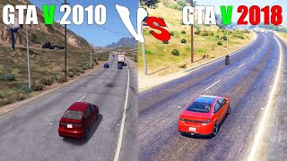 2010 GTA V vs GTA 5 2018 (GTA 5 Beta vs GTA V Final Version)