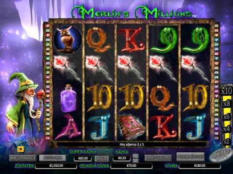 Video Merlins millions slot free