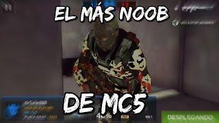 El Jugador Mas NOOB De MC5 | Modern Combat 5 (Español)