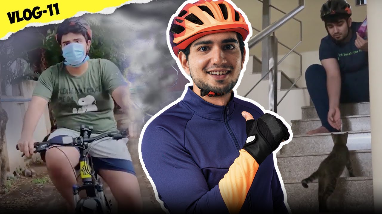 CYCLING IN PUNE STORM | VLOG 11