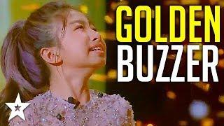Celine Tam obtiene un ZUMBADOR DE ORO en el mundo Got Talent 2019! | Got Talent Global