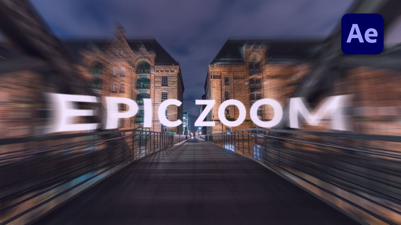How To Pan And Zoom In After Effects Step By Step