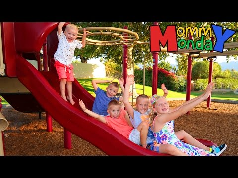 Back to School Shopping Extravaganza & Fun Park Playtime || Mommy Monday