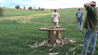 Two Pounds of Tannerite vs Truck Tire