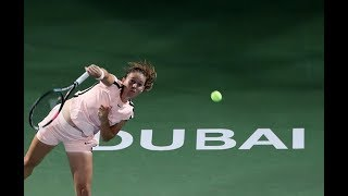 2018 Dubai Quarterfinal | Daria Kasatkina vs. Elena Vesnina | WTA Highlights