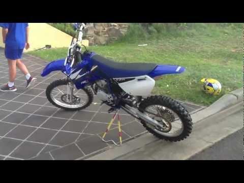 Yamaha YZ85 Walkaround & Start-Up  & Ride VERY CLEAN BIKE