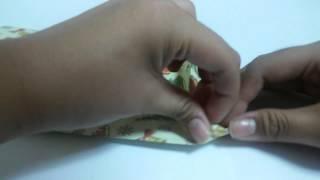 붕어빵 봉투 접기