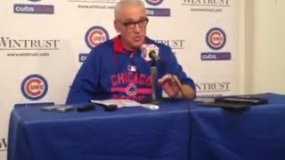 Cubs manager Joe Maddon on Kris Bryant after Cubs