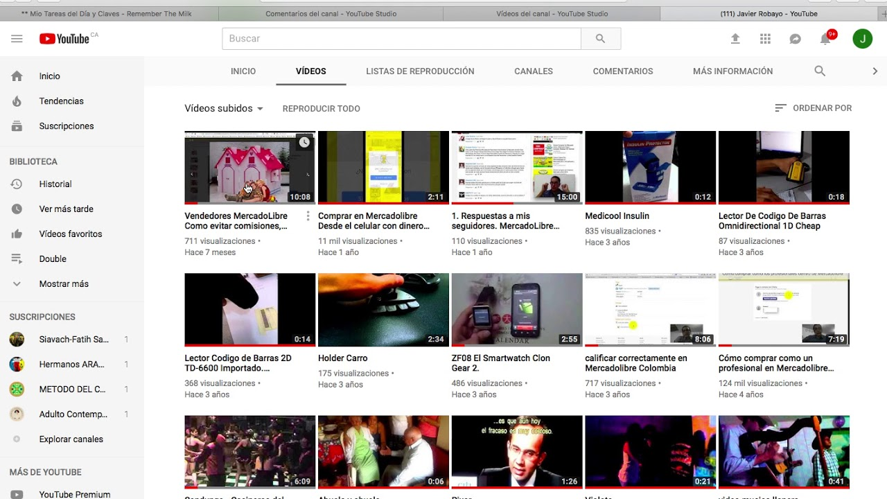 Como Ver Tus Videos Ocultos O Privados O No Listados De Youtube 2018 2019 Youtube