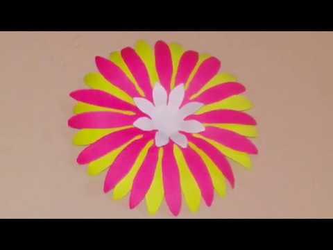 DIY flower craft | How to make paper flower | paper flower crafts | DIY crafts