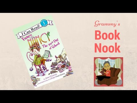 Fancy Nancy | The 100th Day of School | Children's Books Read Aloud