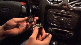 Замена батарейки в ключе Форд Фокус(, 2015-04-15T13:59:20.000Z)