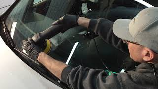 How To Remove Etching, Scratches, Imperfections From Windscreens/Glass!