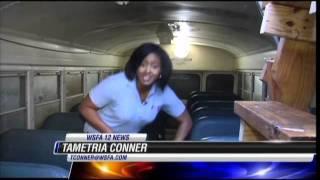 Bus tornado shelter