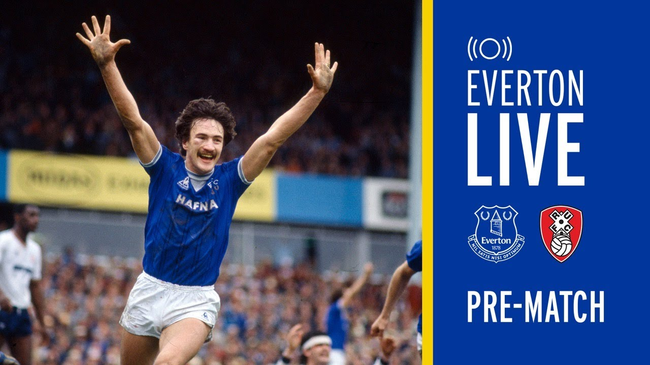 EVERTON V ROTHERHAM UNITED LIVE PRE-MATCH FA CUP SHOW WITH DEREK MOUNTFIELD!