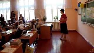 первое сентября . первый урок.марьяновка.