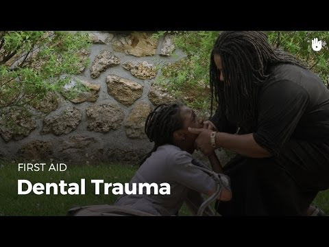 First Aid: Dental Trauma (Red Cross/Red Crescent)