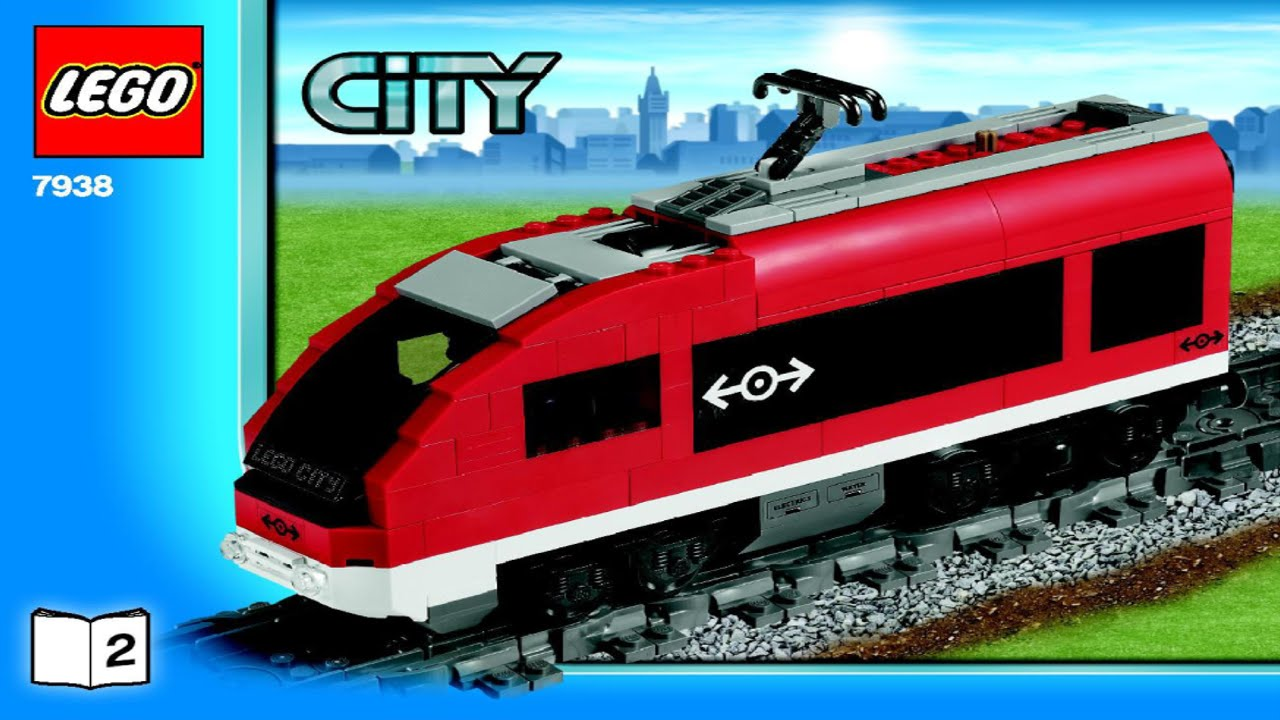 Lego City Passenger Train 7938 LEGO Passenger Train 7...
