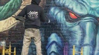 Hearthstone - New York Street Art Time Lapse