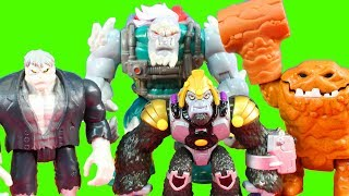 Imaginext Ultimate Beast Wars Episode 1 With Solomon Grundy Clay Face Lex Luthor And Grodd
