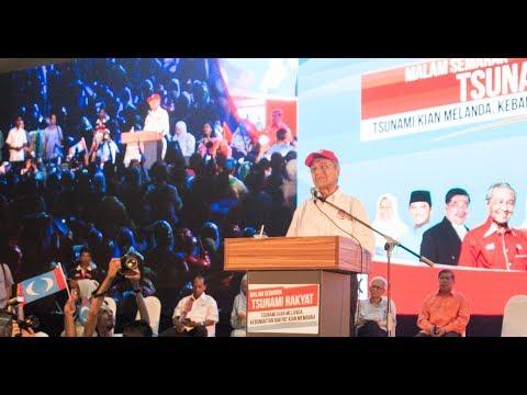 (06/05 Gombak) Tun Mahathir: Najib Bukan Pahlawan, Gambar Saya Dia Pun Takut