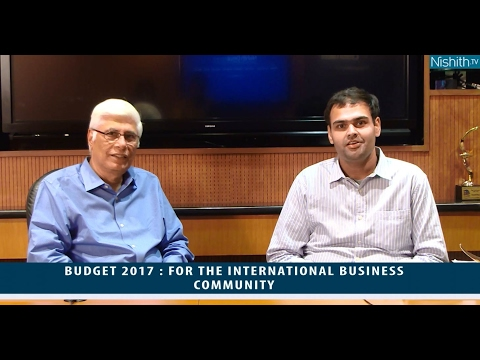 Budget 2017:  For The International Business Community