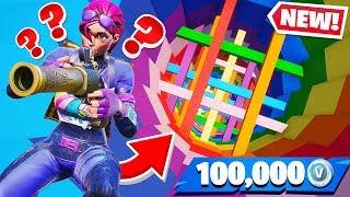 DROPPER Challenge for VBUCKS *NEW* Fortnite Creative Map