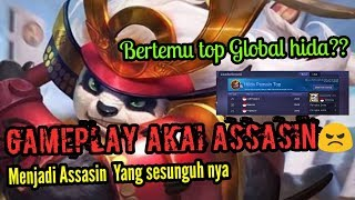 Video Gameplay Akai Assasin  Terbaru - Ketemu top global hilda download MP3, 3GP, MP4, WEBM, AVI, FLV Juli 2018