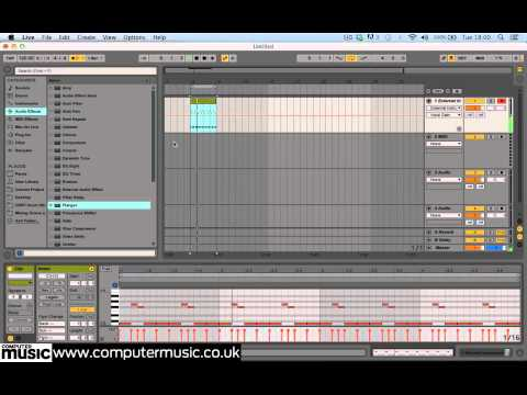 Using hardware synths via Ableton Live's External Instrument plugin