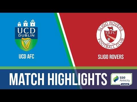 GW14: UCD AFC 0-2 Sligo Rovers