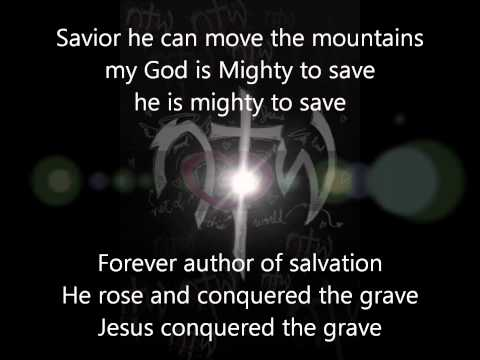 Seventh Day Slumber Mighty to save (with lyrics)