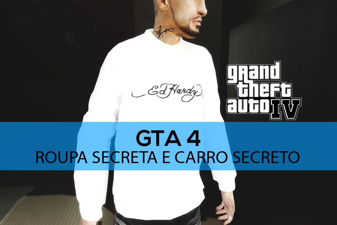 GTA IV Roupa Secreta Carro Secreto Xbox 360 YouTube
